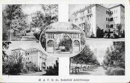 M.A.V.O. Sz. Szantodi üdülötelepe - Multivues 1936 - Karinger, Budapest - Hongrie