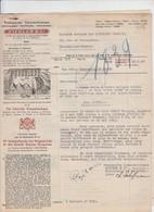 TRANSPORT ZIEGLER -  CIE TRANSATLANTIQUE - WAGONS LITS - BXL POUR MONCEAU SUR SAMBRE - 2 DOCS - 1943 - Transporte