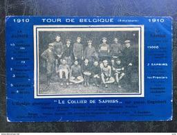 """Tour De Belgique (amateurs )-1910-""""le Collier De Saphirs"""" - Cycling"""