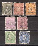 INDES NEERLANDAISES - Y&T -  N° 17 à 22 - 6 Valeurs - O - - Indes Néerlandaises