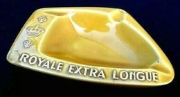 Faïence D' Art Proceram Cendrier Publicitaire Royale Extra Large - Autres
