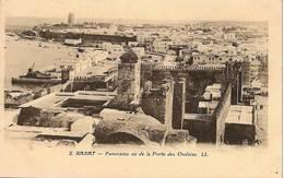 Cpa Du Maroc, Rabat, Panorama Vue De La Porte Des Ourdaias - Rabat