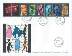Enveloppe 1er Jour France FDC De La Scene A L'ecran 1994 - FDC