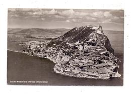 GIBRALTAR - South West View Of Rock Of Gibraltar, 1961 - Gibraltar