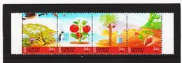 SRO156 UNO GENF 2001 MICHL 428/31 KLIMAÄNDERUNG Postfrisch ** - Genf - Büro Der Vereinten Nationen