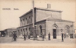 Deinze - Station - Gare - Mooie Animatie - Deinze