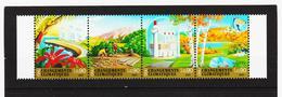 SRO157 UNO GENF 2001 MICHL 428/31 KLIMAÄNDERUNG Postfrisch ** - Genf - Büro Der Vereinten Nationen