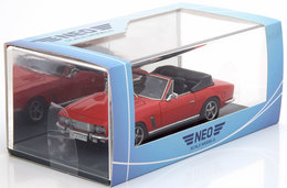 JENSEN INTERCEPTOR SIII CONVERTIBLE 1975 RED NEO 43397 1/43 CABRIOLET RESINE ROT - Voitures, Camions, Bus