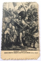 Carte Adressée à Un Soldat Le 6/5/1918 - GESU CRISTO CADUTO SOTTO LA CROCE -Gubbio Cattedrale - Otros