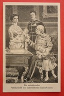 AUSTRIA - KAISER FRANZ JOSEF I. FAMILIENBILD DES ALLERHOCHSTEN KAISERHAUSES - Familles Royales