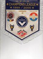 Fanion Du Groupe G Des Girondins De Bordeaux Ligue Des Champions 1999/2000 - Habillement, Souvenirs & Autres