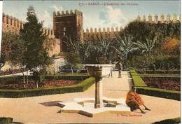 Cpa Du Maroc, Rabat, L' Intérieur Des Ourdaias - Rabat