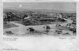 GEORGIE(TIFLIS) Carte Decolee - Géorgie