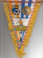 Fanion Du Match Coupe UEFA FC SOCHAUX / GRASSHOPPER ZURICH - Habillement, Souvenirs & Autres