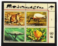 SRO147 UNO GENF 1994 MICHL 245/48 GEFÄHRTERTE ARTEN Postfrisch ** - Genf - Büro Der Vereinten Nationen