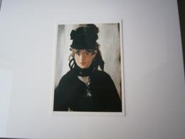 PORTRAIT * BERTHE MORISOT AU BOUQUET DE VIOLETTES *  PEINTURE DE MANET - Künstlerkarten