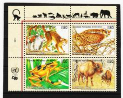 SRO148 UNO GENF 1995 MICHL 263/66 GEFÄHRTERTE ARTEN Postfrisch ** - Genf - Büro Der Vereinten Nationen