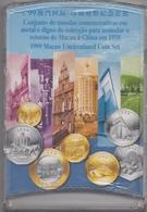@Y@    Macao   1999 Uncirculated Coin Set   Retorno De Macau A China - Macao