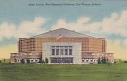 Indiana Fort Wayne Allen County War Memorial Coliseum Curteich - Fort Wayne