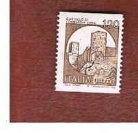 ITALIA  - UNIF. 1529 - 1980 CASTELLI X DISTRIB. AUT.: LOMBARDIA ENNA 120 LIRE      - NUOVI **(MINT) - 1971-80: Mint/hinged