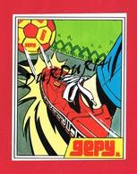1 Autocollant GEPY  1981 Chaussures Ballon - Autocollants