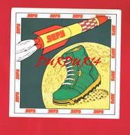 1 Autocollant GEPY  1979 Chaussures Fusée - Autocollants