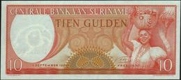 SURINAME - 10 Gulden 01.09.1963 UNC P.121 - Surinam