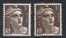 FRANCE : N° 715 ** Et Oblitéré (Type Marianne De Gandon) - PRIX FIXE - - 1945-54 Marianne (Gandon)