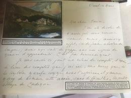 ORVAL - Noblesse - Suzanne D'Otreppe 2 Lettres Manuscrites Concernant La Construction Abbaye De CORDEMOIS - À VOIR ! - Documents Historiques