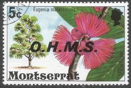Montserrat. 1976 Official. 5c Used. SG O17 - Montserrat