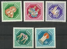 Mongolia 1965 Mi 393-397 MNH ( ZS9 MNG393-397 ) - Scoutisme