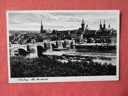 Germany > Bavaria > Wuerzburg Has  German WW2 Cancel    Ref 3161 - Wuerzburg