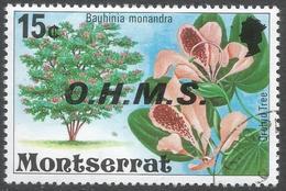 Montserrat. 1976 Official. 15c Used. SG O19 - Montserrat