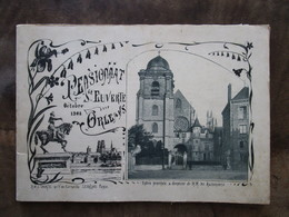 Ancien Rare Livre Ou Livret Pensionnat école De Saint St Euverte à Orléans En 1908 Fleury Les Aubrais écoliers No CPA - Documents Historiques