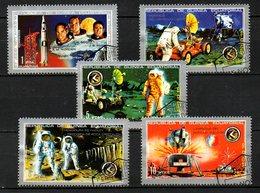 GUINEE EQUATORIALE. Timbres Oblitérés De 1972. Conquête Spatiale. - Space
