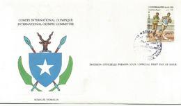 Enveloppe Olympique 1984  Somalie - Somalie (1960-...)