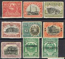 GUATEMALA YT 150-161 - Guatemala