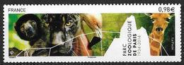 France 2014 N° 4868 Neuf Zoo De Paris à La Faciale - France