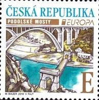 CZ 2018-0978 EUROPA CEPT, CZECH, 1 X 1v, MNH - Tchéquie