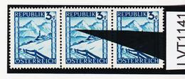 """LVT1141 ÖSTERREICH 1945 MICHL 738 PLATTENFEHLER """" GEMSE """" ** Postfrisch - Abarten & Kuriositäten"""