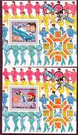 Guinée 748 751 Et PA 173 174  Feuillet Jo De Los Angeles Neuf ** TB MNH SIN CHARNELA - Guinée (1958-...)