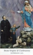 Supersano (Lecce) - Santino BEATA VERGINE DI COELIMANNA - PERFETTO P90 - Religione & Esoterismo