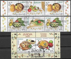 W181 Youslavia-Serbia 2 Sets+labels +block 2005 Used-oblit. - 2005