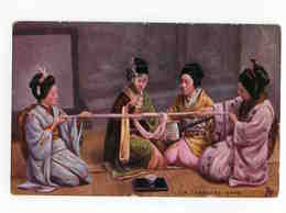 """C 148  -  A Japanese Game - """"Japanese At Home"""" - Japon  -  Tuck - Autres"""