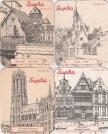 Supra  - Mechelen    4 Stuks - Sous-bocks