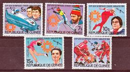 Guinée 748 751 Et PA 173 174 T Jo De Los Angeles Neuf ** TB MNH SIN CHARNELA - Guinée (1958-...)