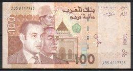 562-Maroc Billet De 100 Dirhams 2002 - 35 - Maroc