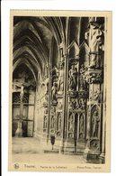 CPA - Carte Postale -Belgique - Tournai- Le Porche De La Cathédrale - VM527 - Doornik