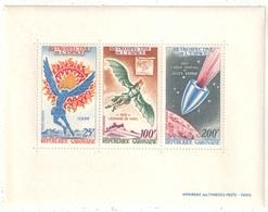 Gabon - Bloc - YT 15 ** - 1970 - Espace - Icare - Vinci - Jules Verne - Africa