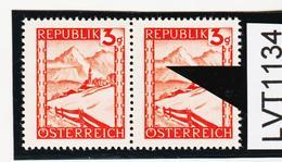 """LVT1134 ÖSTERREICH 1947 MICHL 838 PLATTENFEHLER """" GEMSE """" ** Postfrisch - Abarten & Kuriositäten"""